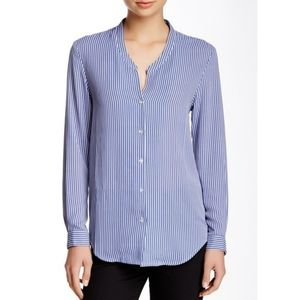 The Kooples Striped Long Sleeve Button Down Shirt